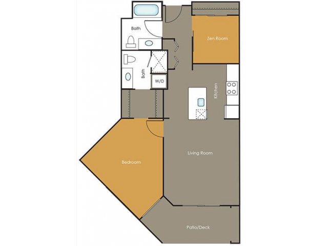 Apartments in Seattle | Rosemary| Angeline Apartments