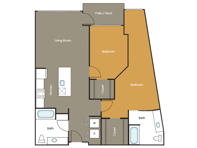 Apartments in Seattle | Wasabi  | Angeline Apartments