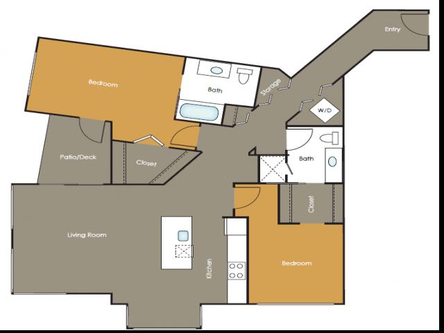 Apartments in Seattle | Saffron | Angeline Apartments