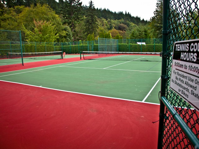 Image of Tennis Court for Taluswood Apartments