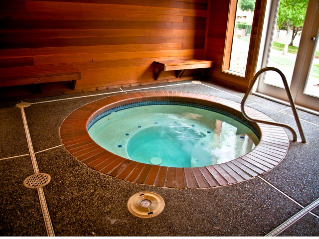 Image of Relaxing Indoor Hot Tub for Taluswood Apartments