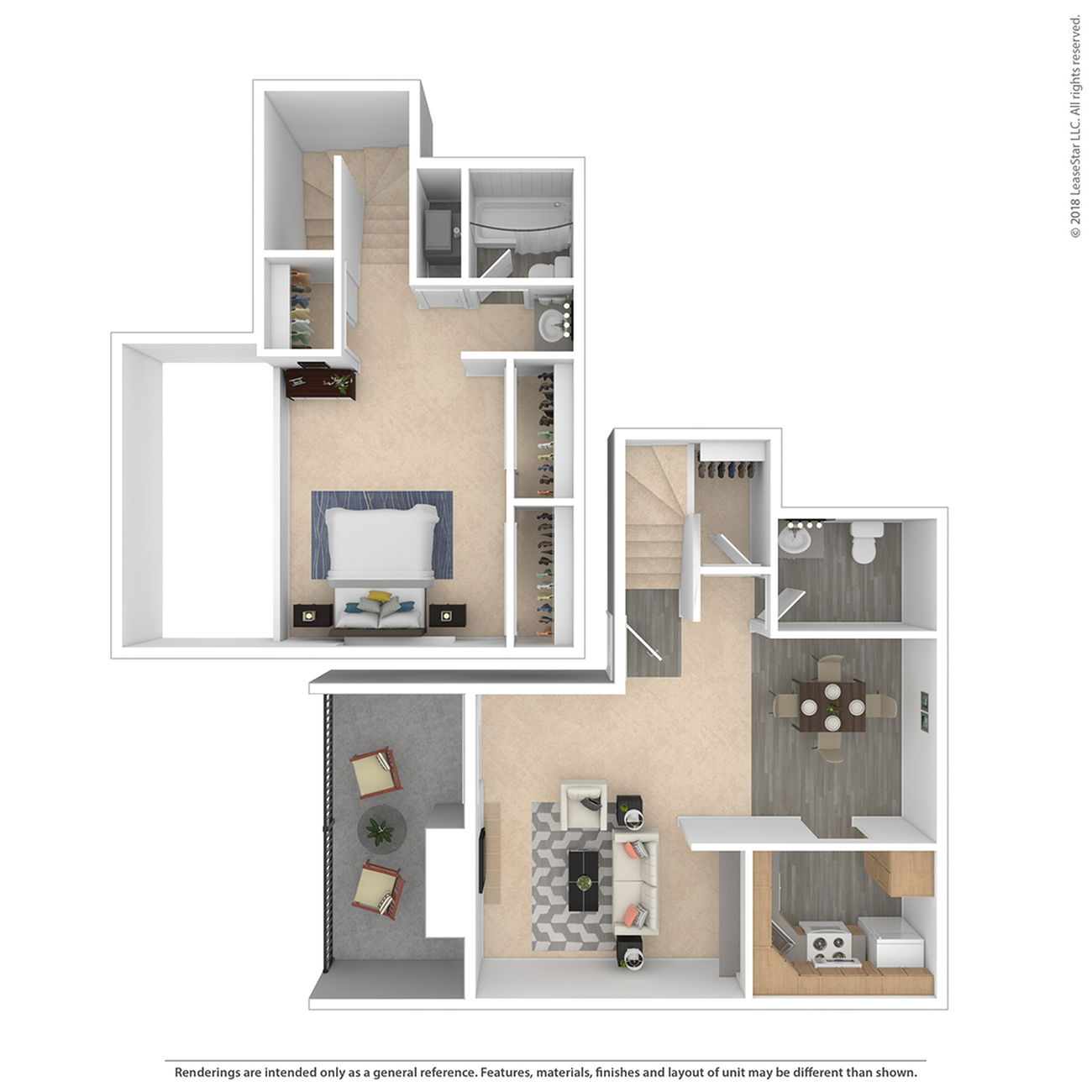 1 Bdrm Floor Plan | 2 Bedroom Apartments Denver | The Lodge on 84th