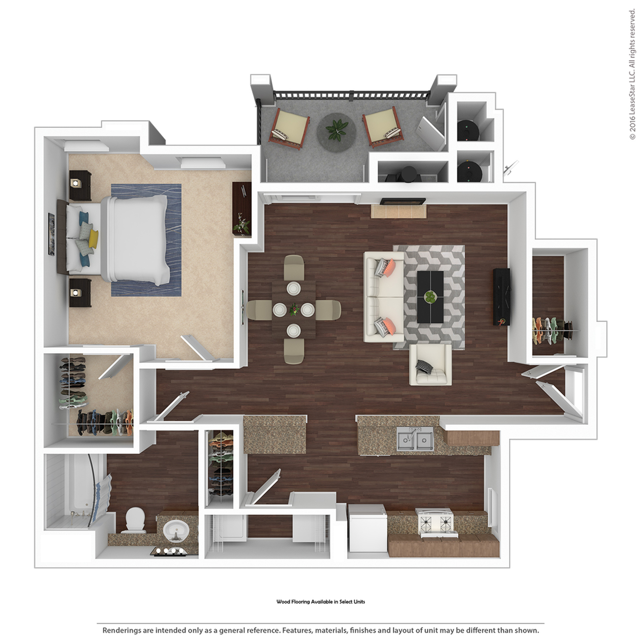 1 Bdrm Floor Plan | 3 Bedroom Apartments Henderson Nv | Verona