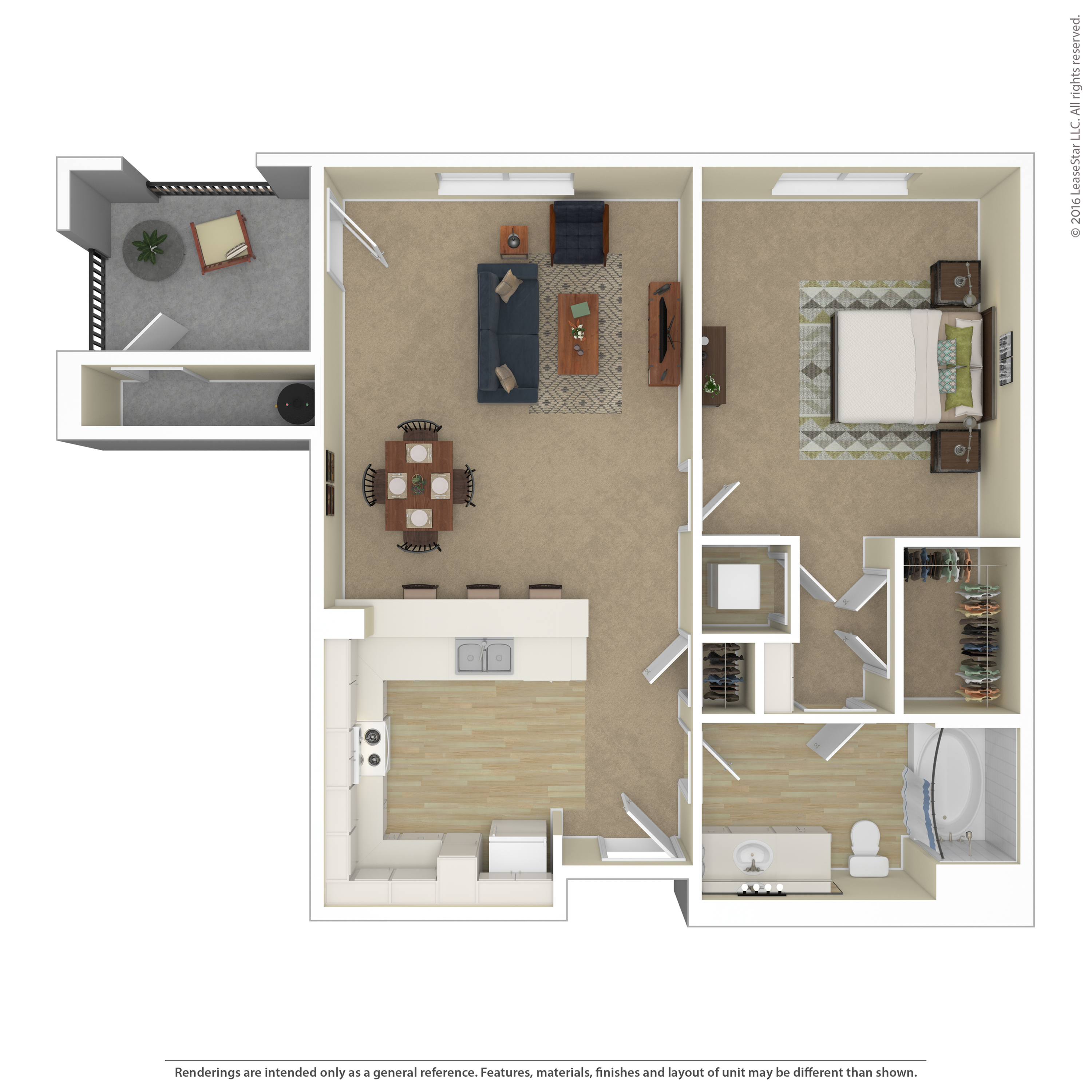 Floor Plan 1 | Apartments For Rent In Northwest Las Vegas | Avanti