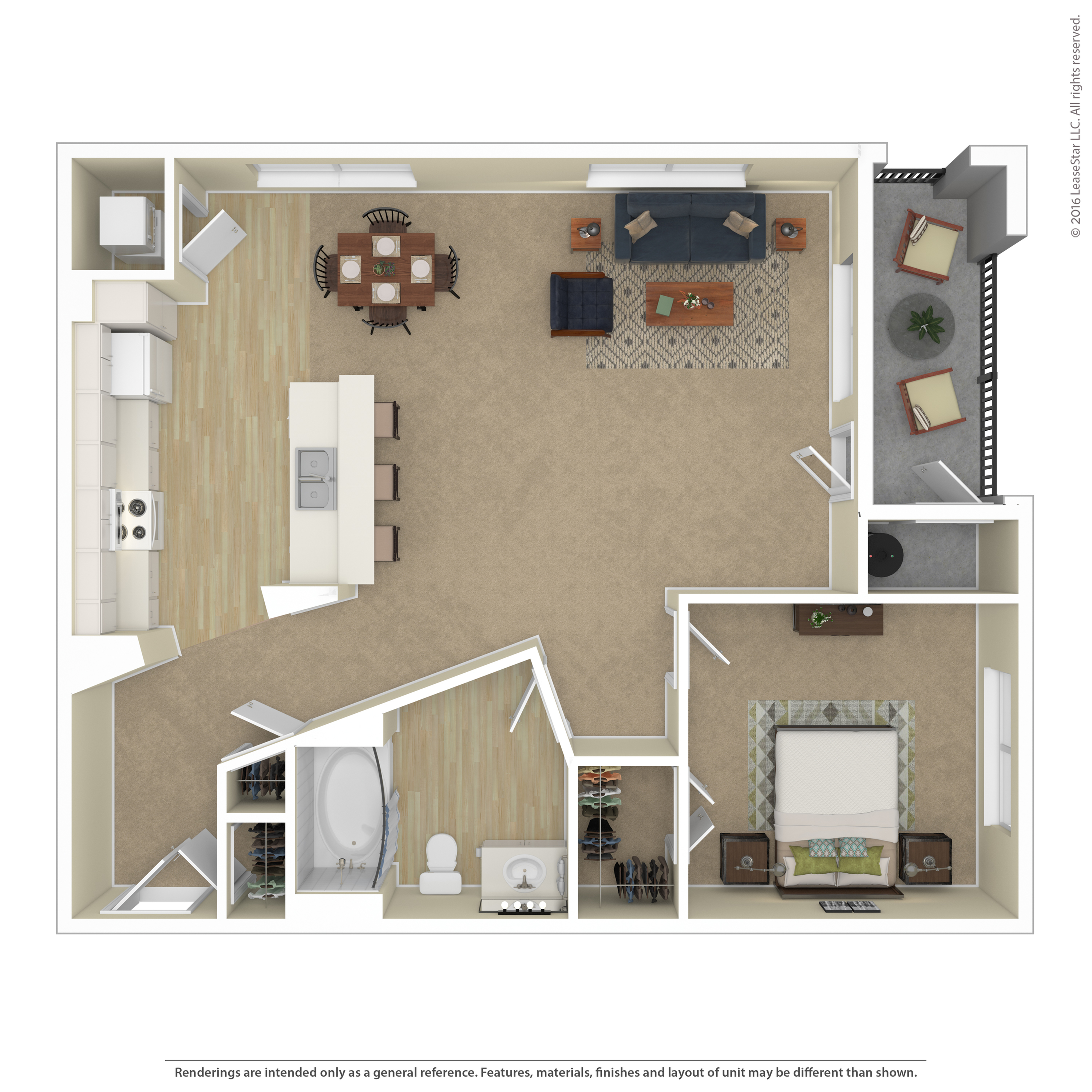 Floor Plan 4 | Apartments In Northwest Las Vegas Nv | Avanti