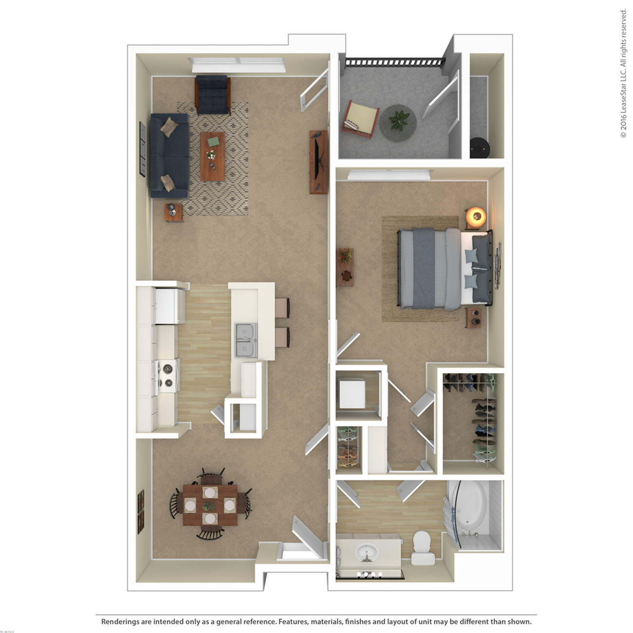 Floor Plan 6 | Apartments For Rent In Northwest Las Vegas | Avanti