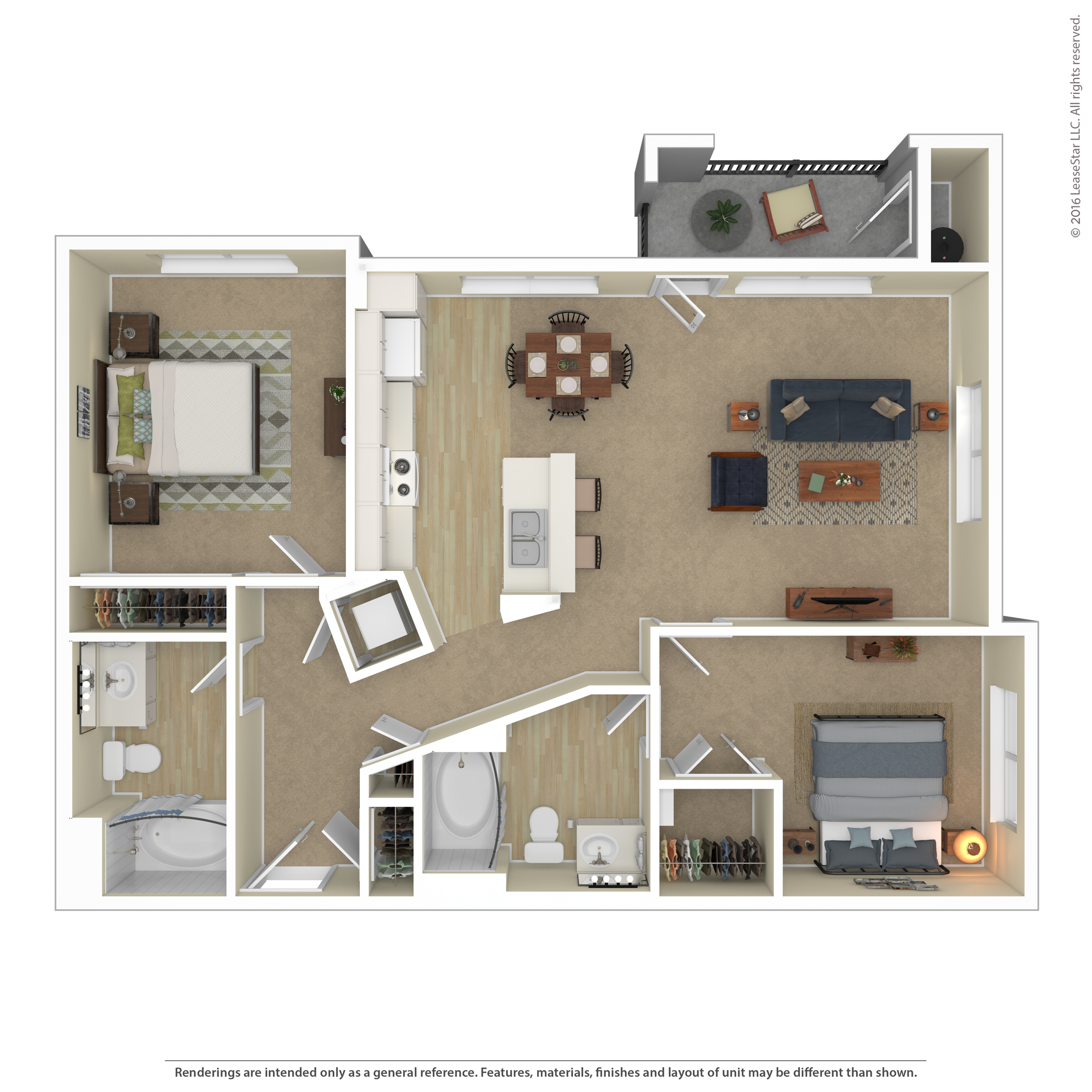 Floor Plan 9 | Apartments In Northwest Las Vegas Nv | Avanti