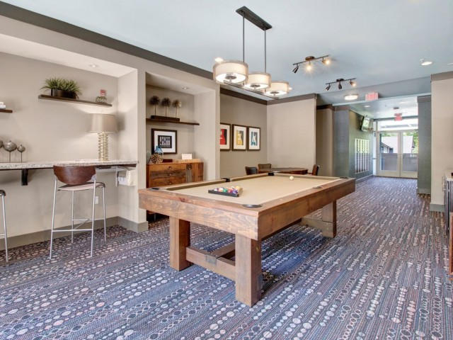 Image of Billiards & Activities Room for Note 16 Apartments
