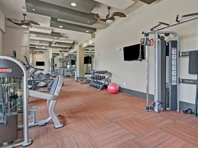 Image of 24/7 Fitness Center with Cardio, Free Weights & Yoga Center for Duet Apartments