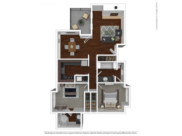 Floor Plan 14 | Apartments For Rent Lake Oswego | One Jefferson