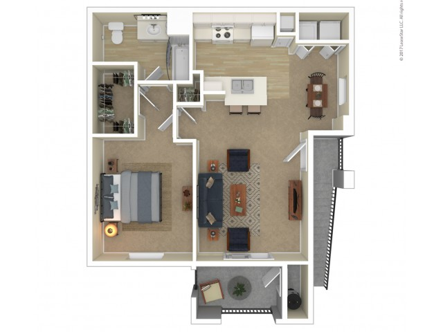 One Bedroom One Bath 1 Bed Apartment Orchard Club Apartments