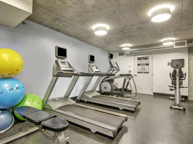 Image of 24-Hour Fitness Studio for Tanner Flats Apartments