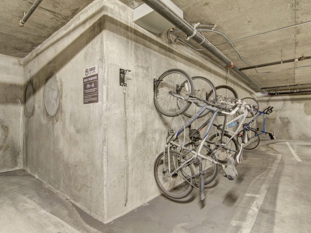Image of Dedicated Bike Storage and Bike Lockers for Tanner Flats Apartments