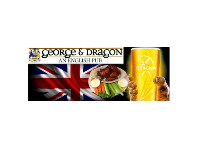George & Dragon English Pub Loglo