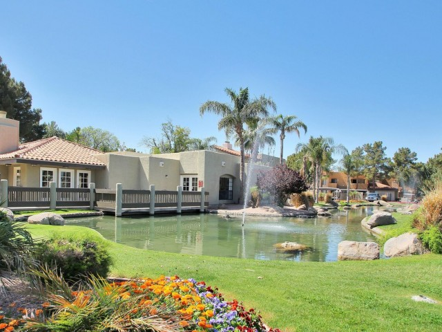 Image of Wildlife Pond for Arches at Hidden Creek Apartments