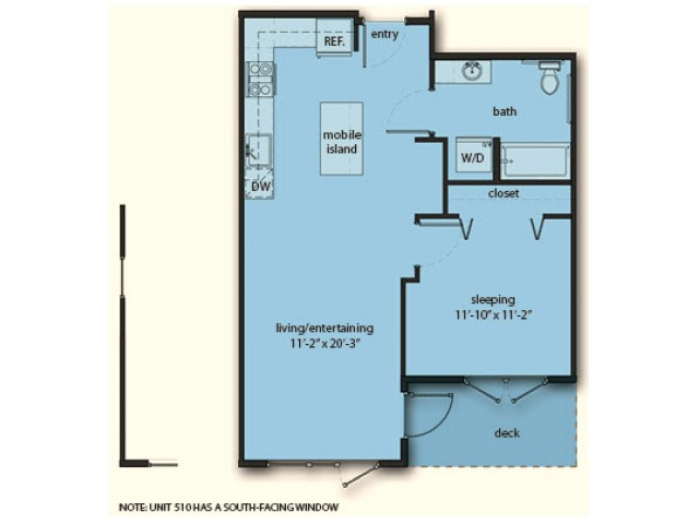 C4 One Bedroom One Bath