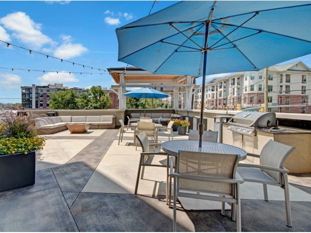 Image of Multiple Sun and Lounge Decks for Duet Apartments