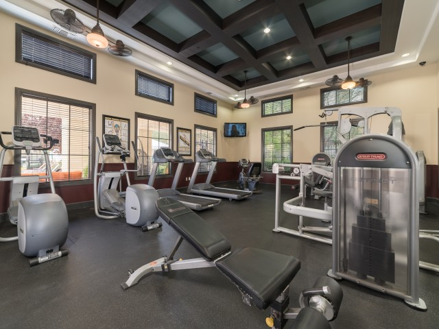 Image of Fitness Center with Free Weights for Avanti Apartments