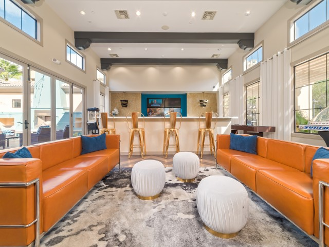 Image of Resident Clubhouse and TV Lounge for Avanti Apartments