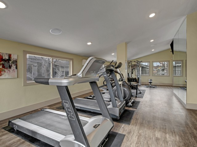 Image of Fitness Center for The Lodge on 84th Apartments