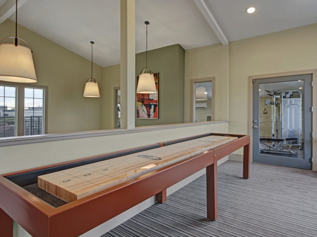 Image of Shuffle Board Table for The Lodge on 84th Apartments