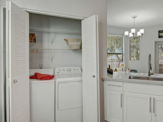 Image of Washer and Dryer in Select Homes for Andante Apartments