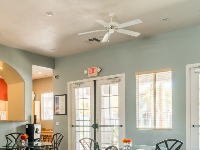 Image of Ceiling Fan for Orchard Club Apartments