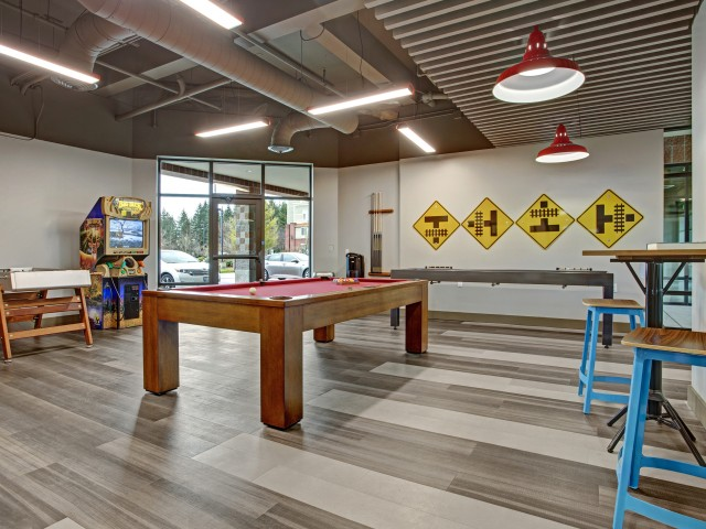 Image of Game Room for Trax at DuPont Station Apartments