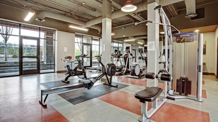 State-of-the-Art Fitness Center | Dupont Wa Apartments | Trax at DuPont Station