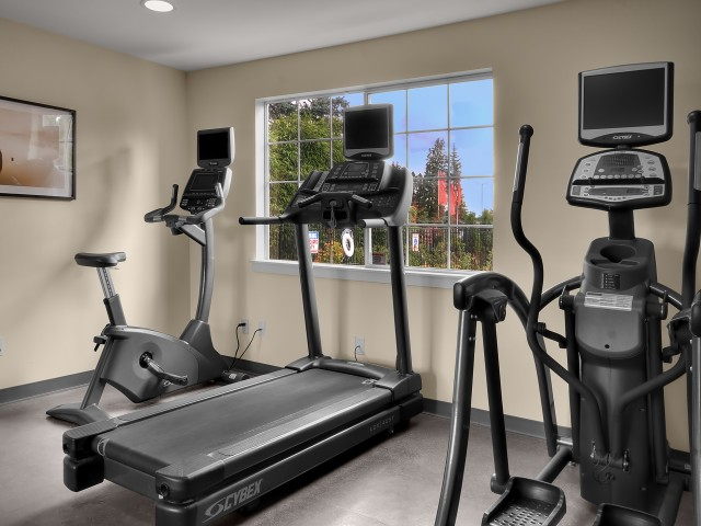 Image of Fitness Center for The Villages at South Station Apartments
