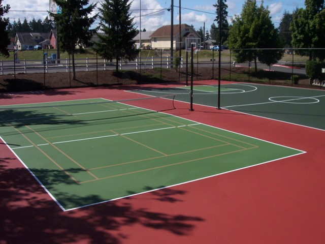 Image of Basketball, Tennis and Sports Court, Picnic Area for Terra Heights Apartments