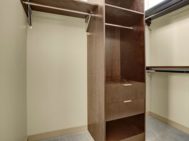 Image of Walk-in Closets In Select Homes for Sylva on Main Apartments