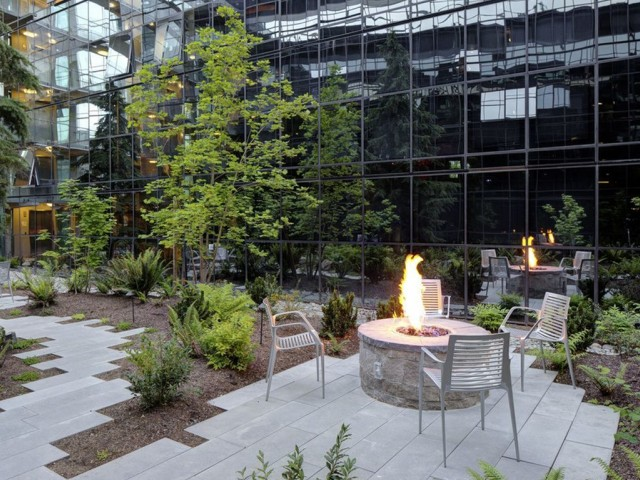 Image of Fire Pit with Lounge Seating for Sylva on Main Apartments
