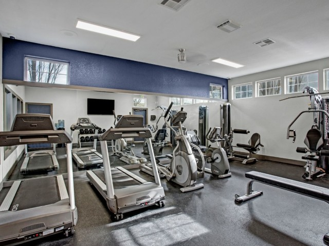 Image of Fitness Center for Riverpointe Apartments