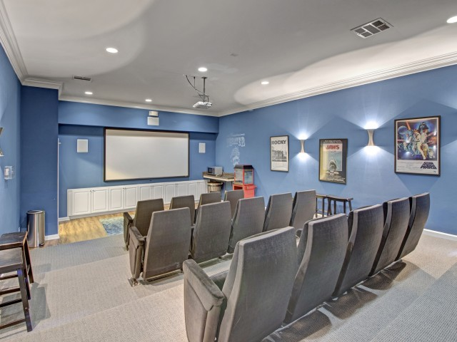 Image of Cinema Room for Hamptons at Woodland Pointe