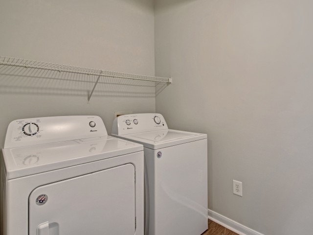 Image of Washer/Dryer in Select Homes for Hamptons at Woodland Pointe