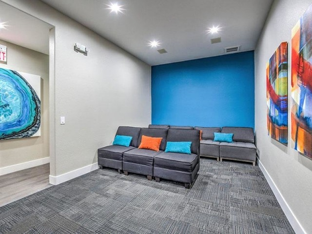 Image of Theater Room for Martinique Bay Apartments