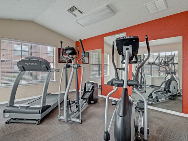 Image of 24-Hour Fitness Center with Free Weights for Chapel Ridge of Yukon Apartments
