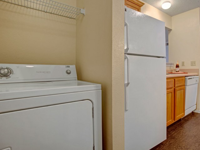Image of Washer and Dryers in Select Apartments and all others have Connections for Crown Ridge of North Edmond Apartments