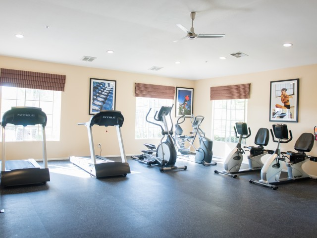 Image of 24 Hour Fitness Center for Overlook at Anaheim Hills Apartments