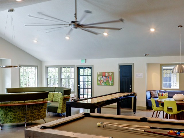 Image of Shuffle Board Table for Overlook at Lakemont Apartments