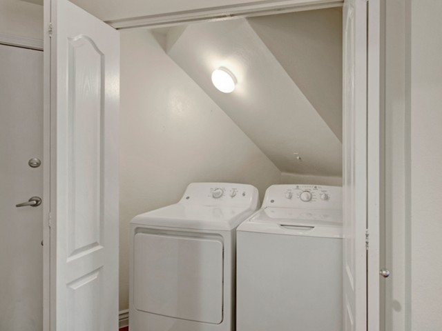 Image of Full-Sized Washer and Dryer for Pavilions on Central Apartments