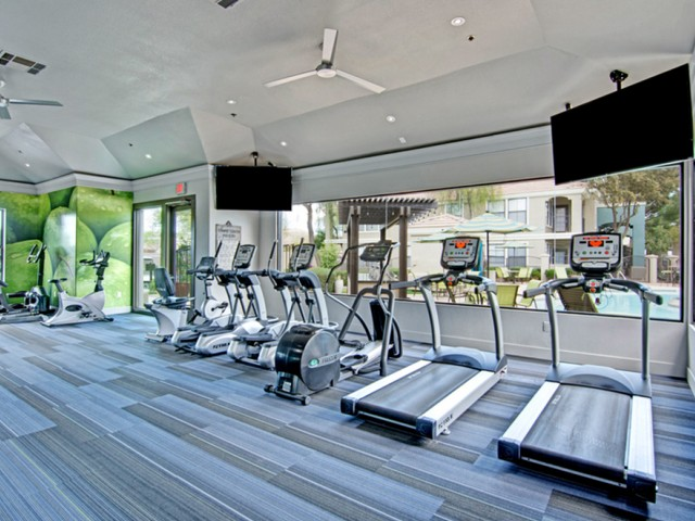 Image of 24-Hour Fitness Center with Free Weights for Andante Apartments