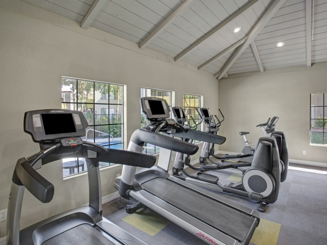Image of Fitness Center with Free Weights for Arches at Hidden Creek Apartments