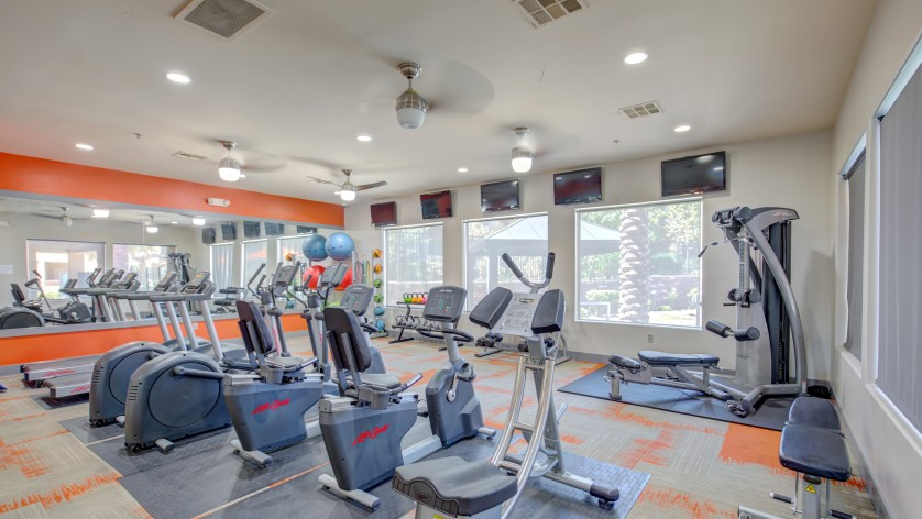 Image of 24/7 Fitness Center with Towel & Water Service for The Edge at Traverse Pointe Apartments