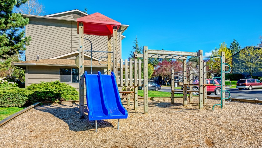 Playground Area  |   Kirkland WA Apartments for rent  |   The Emerson