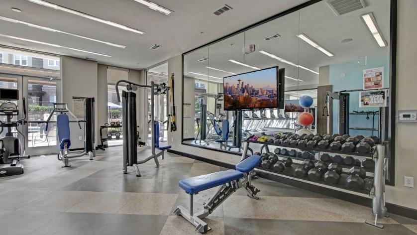 Cutting Edge Fitness Center | Pet Friendly Apartments In Franklin Tn | Artessa
