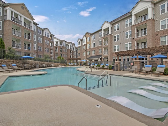 Image of Pool with Cabana Relaxation Room for The Artessa Apartments