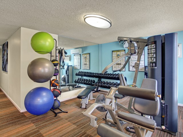 Image of Fitness Center for Gilman Square Apartments