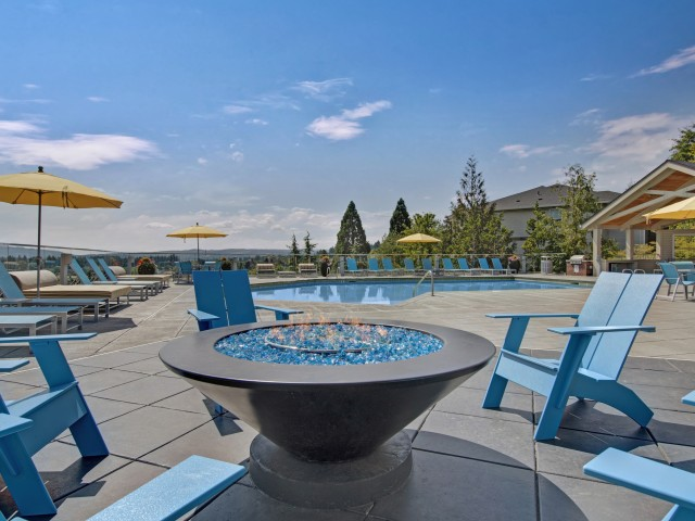 Image of Fire Pit with Lounge Seating for Arbor Heights Apartments